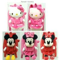 Tas Ransel Punggung Backpack Boneka Anak Karakter Hello Kitty