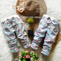 CELANA ARMY celana pendek bawahan baju anak cewek pakaian import