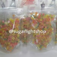 Fruity Snack, Buah kering Makanan Hewan Sugar Glider, Hamster, Tupai