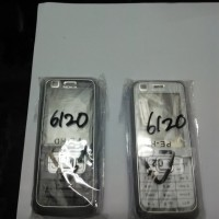 Casing Kesing Fullset Full Set Nokia 6120C 6120 C Classic ORI Cina L