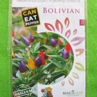 Benih Cabai Cabe Pelangi Bolivian Rainbow Pack 15 Biji - Maica Leaf