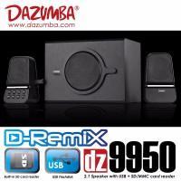 Speaker Aktif Dazumba DZ9950 Rekomen For TV, USB Flash Disk n SD Card