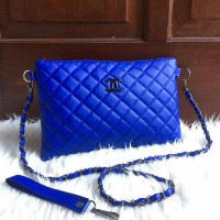 chanel clustch super quality|| tas selempang
