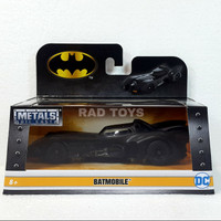 Batmobile 1989 jada 1:32 die cast batman dc diecast