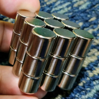Magnet Neodymium NdFeb Silinder Cylinder SUPER KUAT STRONG KEEMASAN