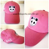 Topi Distro Premium Kickout Pink - Topi Panda CP5