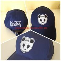 Topi Distro Premium Kickout Navy - Topi Panda CP1