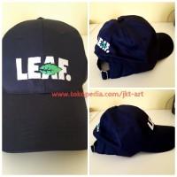 Topi Distro Premium Leaf Navy - Topi Leaf CP6