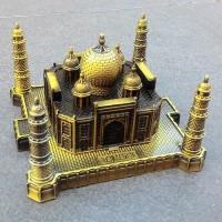 Pajangan Miniatur Taj Mahal, Hadiah Souvenir Koleksi Unik Hiasan Ruang
