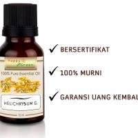 Happy Green Helichrysum Gymocephalum Essential Oil (10 ml) Murni