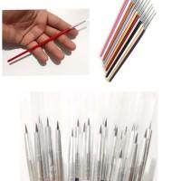 kuas kecil kuas mini tools murah alat kerajinan tangan alat nail art