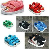 Sepatu Puma Motif Suede Kids Puma Anak Motif Premium Edition