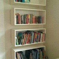 frame ambalan floating shelves shelf rak melayang rak buku