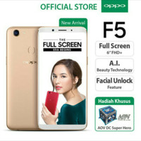 OPPO F5  YOUTH RAM 3GB GARANSI RESMI INDONESIA