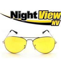 Night View Glasses Kacamata Malam Anti Silau / Kacamata Kuning NV