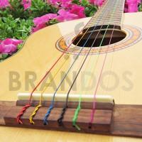 Senar Gitar Klasik Warna Warni / Colourful Alice 107C