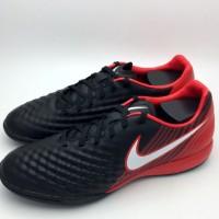 Sepatu Futsal Nike Original Magista X Onda II Black Red 844413-06