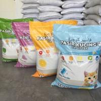 Pasir kucing Kawan Cat Litter 20kg / Pasir gumpal wangi
