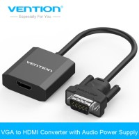 Vention ACEB0 Converter VGA to HDMI Adaptor With Micr041217 Limited