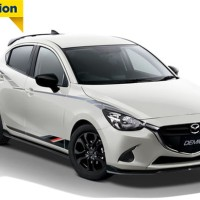 Stiker Mobil Mazda 2 Limited Edition high Quality041217 Limited