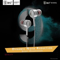Knowledge Zenith Bass Metal Earphone with Mic - QKZ-DM9