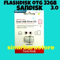 "FLASHDISK USB 3.0 + OTG SANDISK ULTRA"" 32GB ORIGINAL"