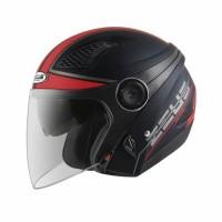 Helm Zeus Z610 Matt Black Red