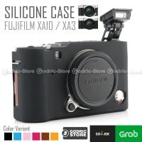 Fujifilm X-A3 / XA3 X-A10 / XA10 Silicone Case / Sarung Silicon Kamera - Hitam