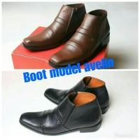 sepatu kulit asli model avelin (boots/brodo/bally/delta/nike,pantofel