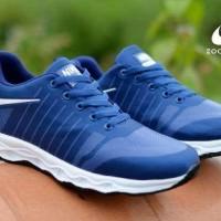 Sepatu Nike Zoom Pegasus Navy Sneakers Olahraga