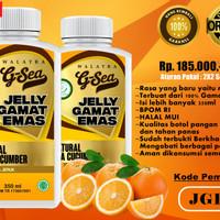 Walatra jelly gamat emas ( rasa jeruk )