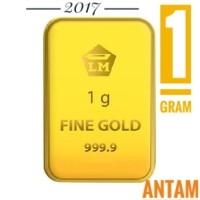 EMAS ANTAM 1 GRAM logam mulia 2017