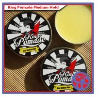 King Pomade Medium Hold UKURAN SEDANG 2,8 OZ AROMA LEMON