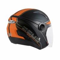 Helm Zeus Z610 Matt Black Orange