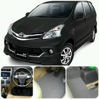 Karpet Mie Comfort 17mm Mobil All New Avanza baris 1 & 2 Tanpa Bagasi
