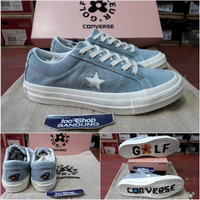 Sneakers Women Converse One Star x Golf Le Fleur Blue BNIB