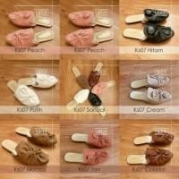 Sandal selop Flat pita wanita