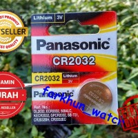 BATTERY BATREI PANASONIC CR 2032 ORIGINAL BATERAI JAM TANGAN
