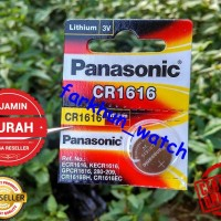 BATTERY BATREI PANASONIC CR 2016 ORIGINAL BATERAI JAM TANGAN