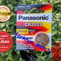 BATTERY BATREI PANASONIC CR 2025 ORIGINAL BATERAI JAM TANGAN