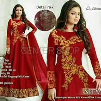 baju india miss nitya Baju muslim pesta mewah xl terbaru SALE