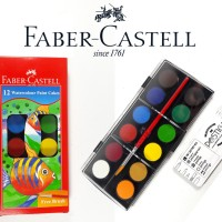 WATERCOLOUR PAINT CAKES / CAT AIR FABER CASTELL