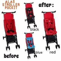 BABY Alas Stroller Cocolatte Pockit / Alas Stroller / Seat Pad