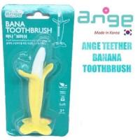 BABY Teether Banana Toothbrush ( ANGE )