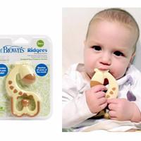 BABY Dr. Brown's Giraffe Ridgees Teether / Gigitan Bayi