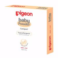 BABY Pigeon Reffil+ Puff Baby Compact Powder Hypoallergenic / Bedak Ba