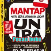 Buku Mantap UN IPA SD/MI Kelas VI, Materi , Teori Dan Latihan Soal Len