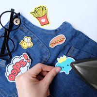 Iron Patch Set - Kids Embroidered / Stiker bordir setrika baju anak