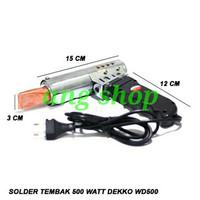 Solder Tembak 500 Watt Dekko WD500 Gun Solder 500W