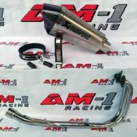 Knalpot Akrapovic Short Yamaha R25 R 25 MT25 Z250 Ninja250 FULL SYSTEM